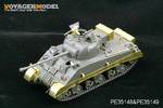 Photo Etched set for 1/35 WWII Sherman VC Firefly (For TASCA / DRAGON)