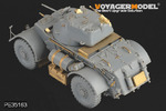 Photo Etched set for 1/35 WWII Staghound (For BRONCO 35011)