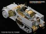 Photo Etched set for 1/35 WWII M4 81mm Mortar Carrier (For DRAGON 6361)