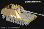 1/35 WWII Nashorn / Hornisse / Hummel Fenders and Floor (For DRAGON 6150/6165/6166/6204/6314)