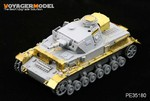 "Photo Etched set for 1/35 WWII Pz.KPfw. IV Ausf F1 ""Vorpanzer"" (For DRAGON6398)"