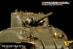 WWII M4A1 Mid Version (For TASCA 35010)