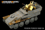 "1/35 WWII German Flakpanzer 38(t) ""Gepard"" Basic (For DRAGON 6469)"