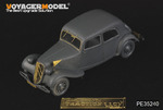 1/35 WWII Citroen Traction 11CV Staff Car (For TAMIYA 35301)