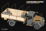 1/35 WWII German Opel Blitz 3t. 4x2 Cargo Truck /Shallow Cargo Bay (For TAMIYA 35291)