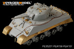 1/35 WWII USMC M4A2 Mid Tank Late Version PTO (For DRAGON 6462)