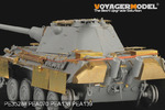 1/35 WWII German Panther F Basic (For DRAGON 6403)