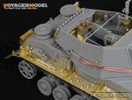 1/35 WWII German Pz.Sfl.Ivb 10.5cm le.FH.18/1 Fenders (For DRAGON 6475)