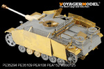 1/35 WWII German StuG.III Ausf.G Late Production Basic (For DRAGON Kit)