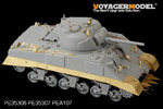 1/35 WWII US Army M4/M4 DV Mid Tank (For DRAGON 6511 6579/ TAM35190)