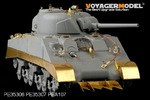 1/35 WWII US army M4 Mid Tank Skirts (For DRAGON 6511 6579)