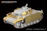 1/35 WWII Pz.KPfw. III Ausf N Late Version (For DRAGON 6474 6606)