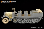 1/35 WWII German Sd.Kfz.7 8t Half Track Early Version (For DRAGON 6466)