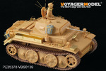 WWII German PzKpfw.II.Ausf.L Luch late version basic(For Tasca kit)