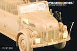 1/35 WWII German Steyr 1500A Kommandeurwagen (For TAMIYA 35235)