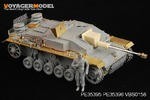 1/35 WWII German StuG.III Ausf.F8 Fenders(For DRAGON 6644)