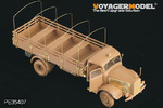 WWII German Benz L4500A truck(For zvezda 02312)