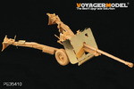WWII British 17pdr Anti-tank Gun Mk.I(For Bronco 35024)