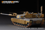 Modern US  M1A1 TUSK1 Abrams Basic(For DML3535)