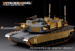 Modern US  M1A2 TUSK2  Abrams Basic(For DRAGON 3536)