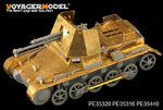 WWII German 47mm PaK(t) Panzerjager I early version basic(For DRAGON 6230)