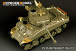 Israeli M1 Super Sherman Tank basic(For TAMIYA 35322)