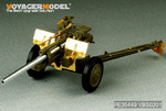 WWII US 3inch M5 ATG/w M1 or 105mm Howitzer M2A1Carriage  2in1( For AFV CLUB 35S64/35160)