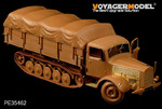 WWII German Benz L4500R Maulter(For zvezda 3603)