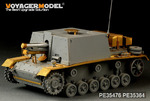 WWII German STUG III. Ausf.SIG33(For DRAGON 6042 6713)