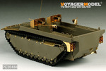 WWII US LVT-4 Water Buffalo Landing Vehicle Tracked Late version basic( AFV CLUB 35198)