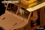 Modern U.S. M1070 Truck Tractor Interior(For HOBBYBOSS 85502)