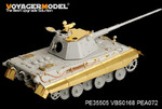 WWII German E-50 Tank (For TRUMPETER 01536)