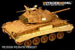 WWII British Army M24 Chaffee Light Tank basic(For Bronco 35068)