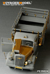 WWII German Opel Blitz 3t. 4x2 Cargo Truck /Shallow Cargo Bay(For DRAGON 6670)