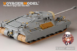 WWII US T-28 Super Heavy tank w/M2 /Mantlet(for DRAGON 6750)