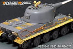 WWII German Pz.Kpfw.VII lowe Super Heavy tank(For Amusing hobby 35A005)