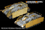 WWII German StuG.IV Late Production(For DRAGON 6612)