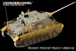 WWII German Jagdpanzer IV/70(A) ZWISCHEN LOSUNG(For DRAGON 6082 6689/TRISTAR KIT 35048)