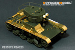 WWII Soviet T-26 Light Infantry Tank Mod.1935 (Gun barrel Includ)(FOR HOBBYBOSS 82496)