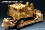 Modern IDF D9R Armored BullDozer w/slat armour(FOR MENG SS-002)