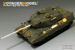 Modern German Leopard 1A4 MBT ( Gun barrel Include)(For MENG TS-007)