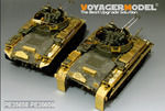 German Flakpanzer M42A1 Duster fenders(For AFV 35S66)