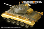 US Army M24 Light tank basic( Korean War)(For AFV AF35209)