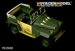 WWII Russian GAZ-67B Military Vehicle(For TRUMPETER 02346)
