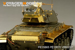 US M24 Chaffee Light Tank Fenders and Skirts(For AFV  AF35209)