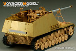 WWII German Sd.Kfz. 164 Nashorn  ( Gun barrel Include)(For TAMIYA35335)