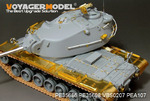 US M103A1 Heavy tank Basic(Gun barrel  include)(For DRAGON 3548)