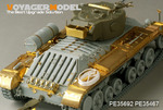WWII British Valentine Mk.III Infantry Tank basic w/Rota trailer(For AFV CLUB 35201)