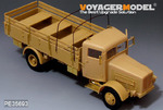 WWII German Bussing Nag L4500A 4X4 Cargo Truck (For AFV 35270)