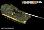 Modern German PzH2000 SPH basic(atenna base include)(For MENG TS-012)